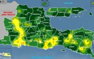 Prakiraan Cuaca Bulan Oktober 2016 di Jawa Timur, Musim Hujan Datang Lebih Awal…!